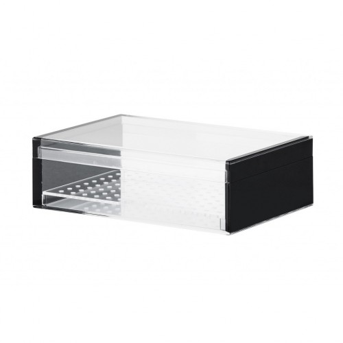 Humidor in Black Acrylic