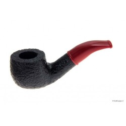 Savinelli Mini 601 Rustic - Red - 9mm filter