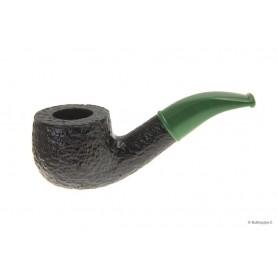 Pipa Savinelli Mini 601 Rusticata - Verde - filtro 9mm