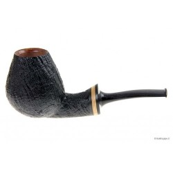 Vitale Pipe - ★★ - Sandblast - Light Bent Egg