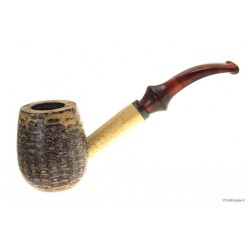 Charles Towne Cobbler Corn Cob pipe with acrylic mouthpiece