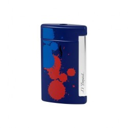 Mechero S.T. Dupont XTend Mini Jet - Splash - Azul
