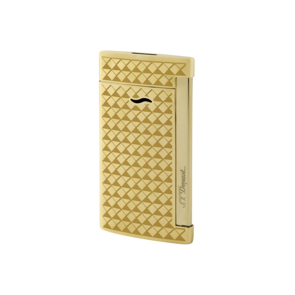 S.T. Dupont Slim 7 Jet Flame Lighter - Gold Firehead