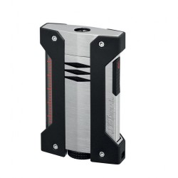 S.T. Dupont Defi Extreme Jet Flame Lighter - Satin Chrome