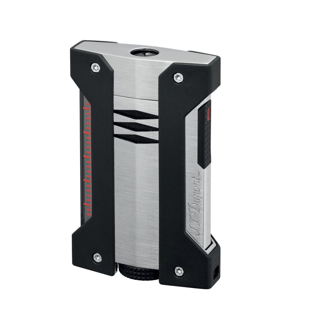 S.T. Dupont Defi Extreme Jet Flame Lighter - Satin Chrome