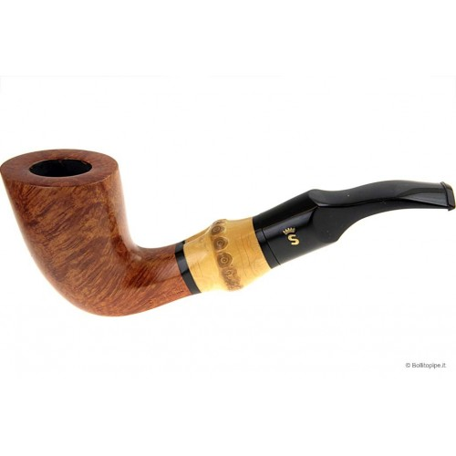 Stanwell Bamboo polished - Light Bent Dublin - 9mm filter