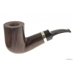 Ser Jacopo L1 - A - with silver band - Chubby Bent Billiard