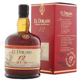 Rum 12 años El Dorado 70cl