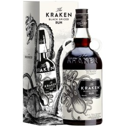Rum The Kraken Black Spiced 70cl