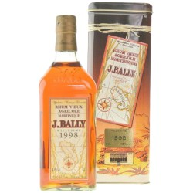 Rum Vieux Agricole Millésime 1998 J.Bally Martinica 70 cl- Astucciato