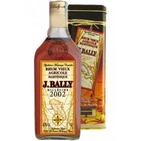 Rum Vieux Agricole Millésime 2002 J.Bally Martinica 70 cl