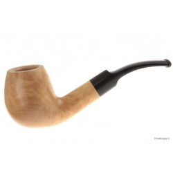 Pipe waxed - Half Bent Billiard