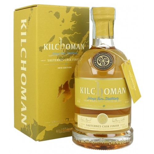 Whisky Kilchoman Sauternes finish - 50%