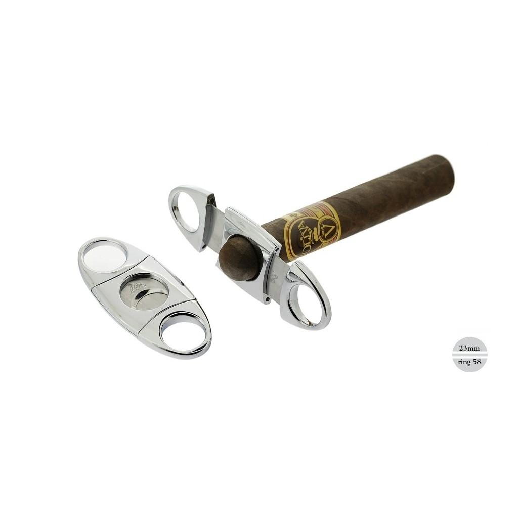 Coupe cigares crome avec 2 lame