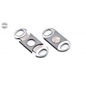 Cigar cutter satin/polish steel