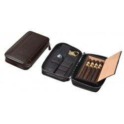 Trousse for 4 Churchill Cigars