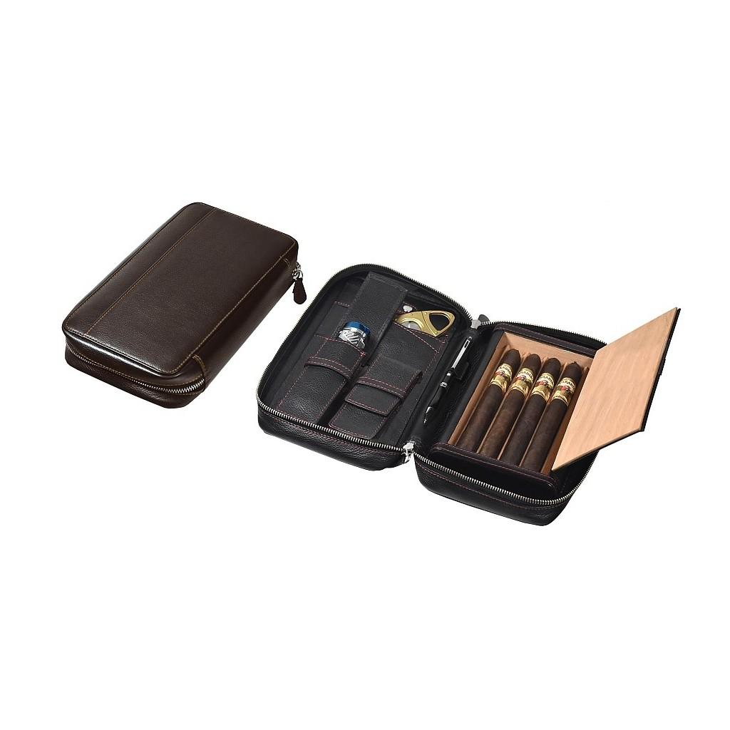 Trousse por viaje por 4 Churchill cigarros