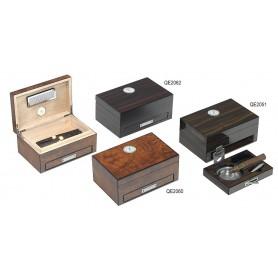 Humidor per Toscani con igrometro analogico e posacenere
