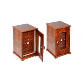 Gabinete de madera de olmo cigarro 5 o 7 cajones