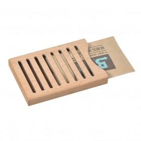 Lubinski - Boveda - Wood Holder per 1 Boveda da 60 grammi
