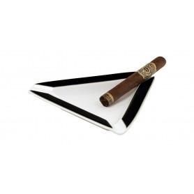 Posacenere da tavolo in ceramica Lubinski - Triangolo
