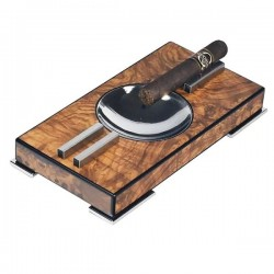Lubinski cigar ashtray in Elm Mat