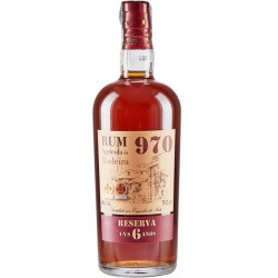 Rum Agricola da Madeira 970 Reserva 6 YO - 70 cl - 40%