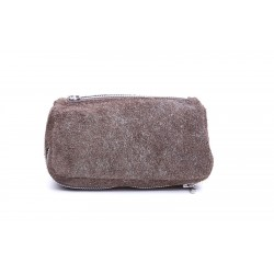 Savinelli pouch light brown suede for 2 pipes, tobacco and accessories