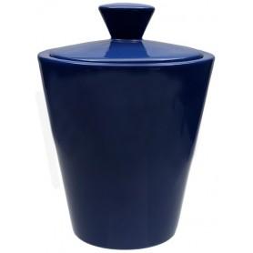Vaso porta tabacco Savinello in ceramica - Blu