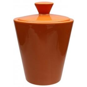 Vaso porta tabacco Savinello in ceramica - Arancione