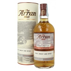 Whisky Arran Small Batch Peat, Sweet & Spice - 54,8%