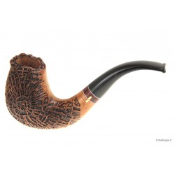Pipa Amorelli Old Root Fancy Flock - Bent Chimney