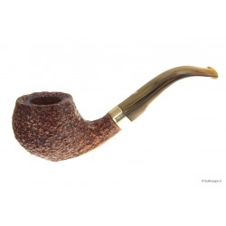 Viprati rusticated with silver band - Bent Apple