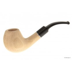 Beech Pipe - Bent Billiard - Filtro 9mm