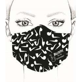 Máscara - Pipa - Negra