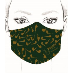 Mask - Pipe - Dark Green
