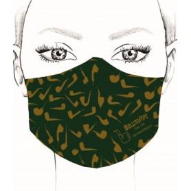Masque - Pipe - Vert
