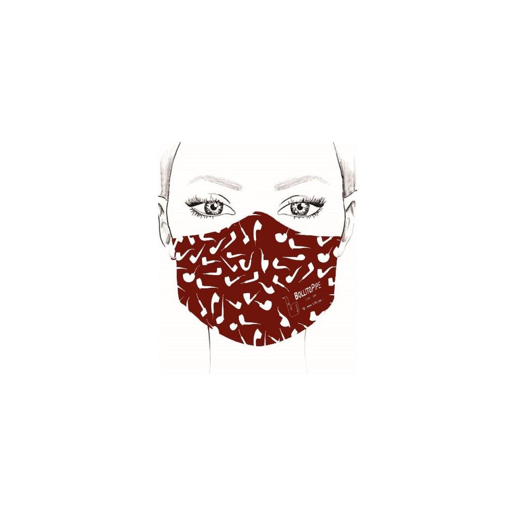 Mask - Pipe - Bordeaux