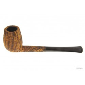 Duca pipe Barone (B) sandblast - Pencil Billiard