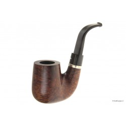 Caminetto dark smooth large with silver band- Hungarian