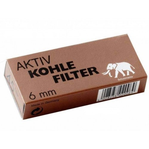 White Elephant Activated Carbon Filter 6mm (45 Filters)