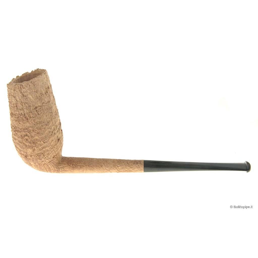 Duca pipe Barone (B) sablée - Pencil Chimney