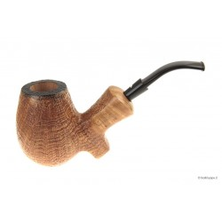 Pipa Caminetto sabbiata Moustache - Full Bent Egg