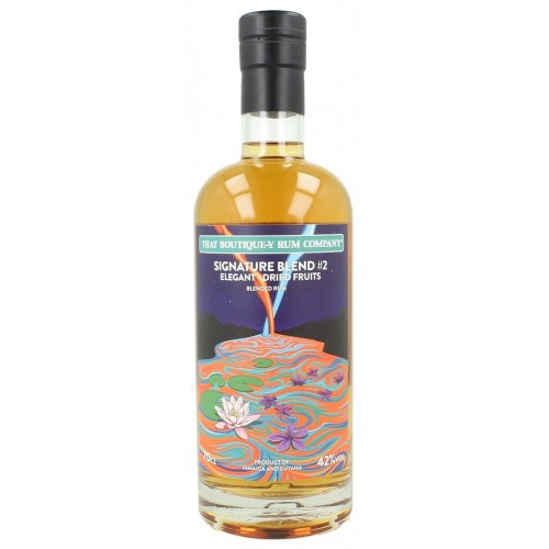 Rum That boutique-y rum company - TBRC Signature Blend #2 Elegant - Dried Fruits - 42%