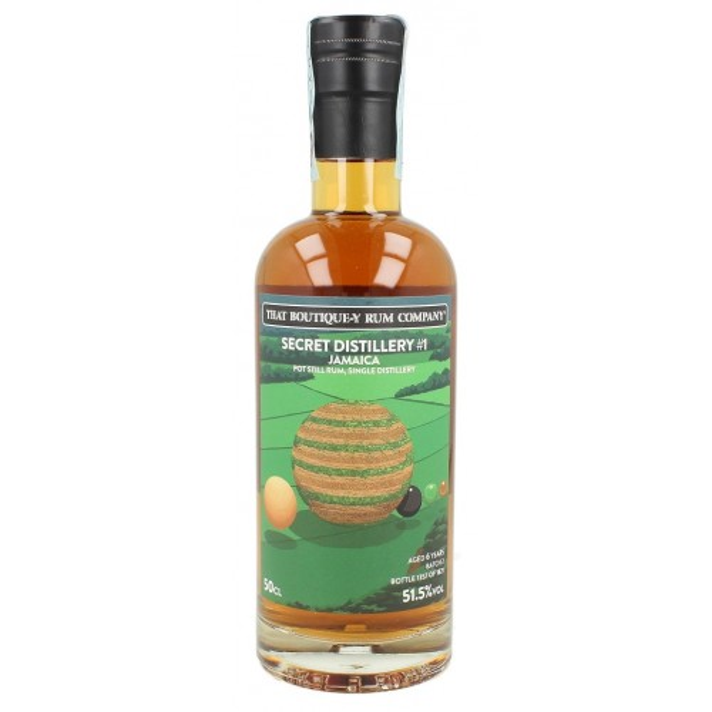 Rum That boutique-y rum company - TBRC Secret Distillery #1 Jamaica, Batch 2, 6 YO - 51,5% - cl. 50