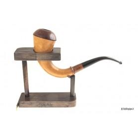 Pipa rodata: Calabash Strambach con portacalabash