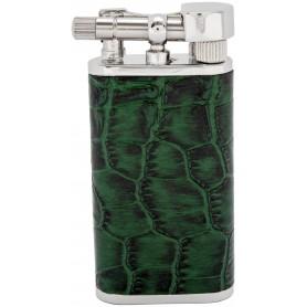 """Briquet pour pipe Tsubota Pearl """"Stanley"""" - Etui Vert"""