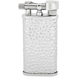 "Briquet pour pipe Tsubota Pearl ""Stanley"" - Silver Rustic"