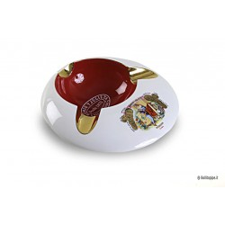 Romeo Y Julieta ceramic cigar ashtray - Round